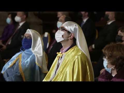 Presidente tras participar de Te Deum en la Catedral de Santiago