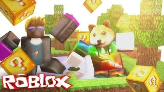 LUCKY BLOCKS EN ROBLOX!!