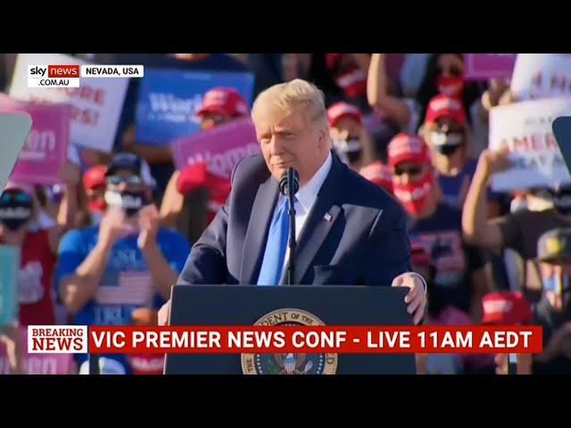 'Boring Biden' will send mainstream media broke: Donald Trump