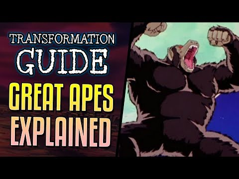 VIDEO: GREAT APE TRANSFORMATION EXPLAINED - Dragon Ball