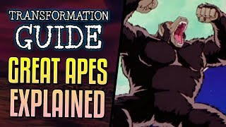 Great Ape Transformation Explained
