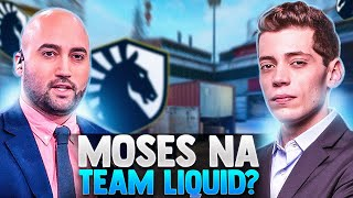 MOSES na Team Liquid! -nitr0 + Grim - OPINIÃO SOBRE CS:GO INTERNACIONAL! (Call do BCZZ)