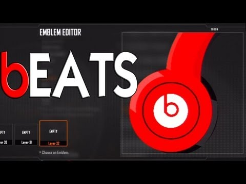 Black Ops 2 - Beats Emblem Tutorial