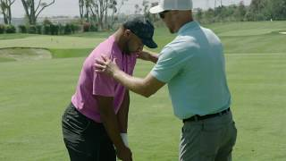 Fitting NFL Wide Receiver Golden Tate into Callaway Golf Clubs