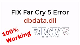 Learn to fix far cry 5 error dbdata.dll 100% working updated command: gpedit.msc how permanently disable windows defender on 10: https://www.windo...