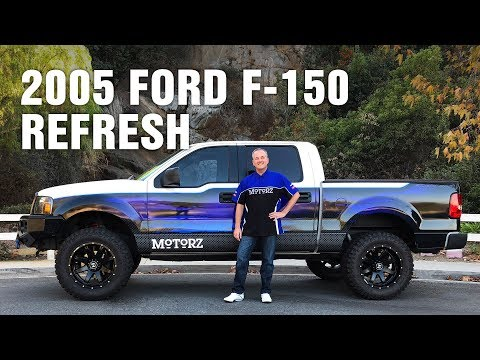 2005 Ford F-150 Refresh, 2017 F-150 & Focus RS Test Drive, Motorz #94