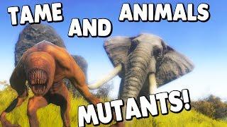 Animallica - TAME ANIMALS, BATTLE MUTANTS & BUILD A BASE! ( Animallica Gameplay )