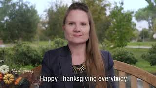 Happy Thanksgiving everybody