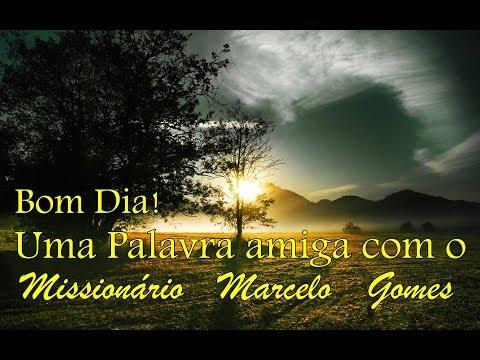 """Programa """"PALAVRA AMIGA"""". Com o Missionário Marcelo Gomes-Basil (14/03/18)."""