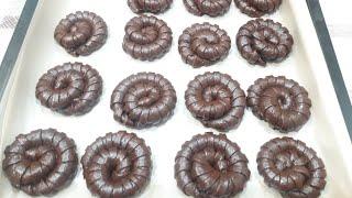 Шоколадное Печенье С Кокосовое Начинкой. Простые рецепты от Гули.