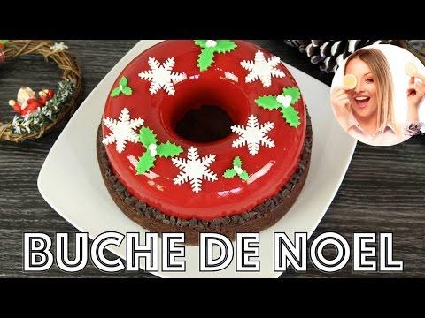 ❅•-recette-bÛche-de-noel-|-recette-glacage-miroir-rouge-facile-•❅