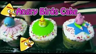 Yummy! Angry Birds Cake & Patrick Spongebob cake - Kids Food