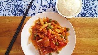 How To Make Singapore Sweet & Sour Pork (or Hainanese Pork Chop)