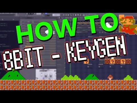 MAKING 8-Bit Gaming / Keygen MUSIC in FL Studio