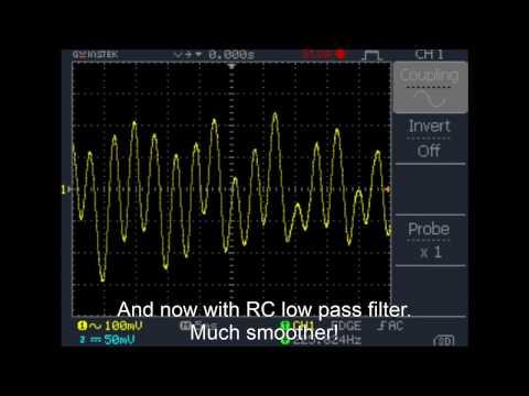 ET03 - Arduino Plays TRON PCM Sound Via 8 Bit R2R Resistor Ladder