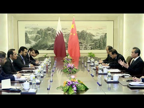Qatari Foreign Minister visits China amid tension with neighbors