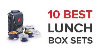 10 Best Lunch Box Sets in India with Price