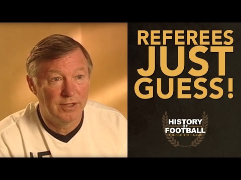 Sir Alex Ferguson Interview; Referees Extra Time Is Nonsense!  | History Of Football
