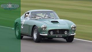 Gorgeous Ferrari 250 Swb Thrown Round Goodwood Youtube