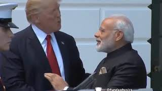Mid lip Modi and Tr s funny video