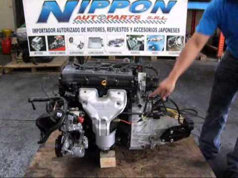 MOTOR GA15 CAJA MECANICA