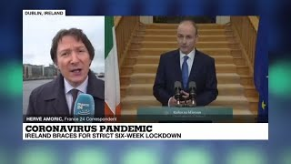Coronavirus pandemic: Ireland is first EU country to re-enter lockdown