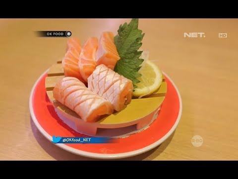 Penyajian Sushi yang Unik Bikin Peppy dan Eneng Kagum
