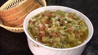 Отличный вариант для легкого перекуса. Сочный и очень вкусный Салат из баклажанов с перцем .