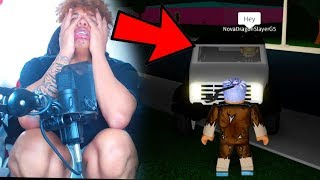 I was HOMELESS until this STRANGER did this... | ROBLOX BLOXBURG ROLEPLAY