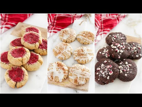 Healthy Holiday Cookie Recipes That You MUST TRY: paleo christmas cookies
