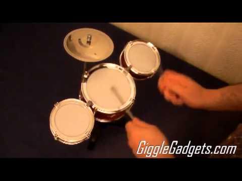 Desktop Drum Set Youtube