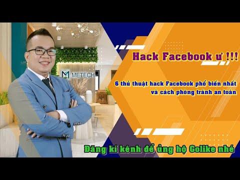 làm sao để không bị hack facebook - 6 Thủ thuật hack Facebook phổ biến và cách phòng tránh - Golike chia sẽ