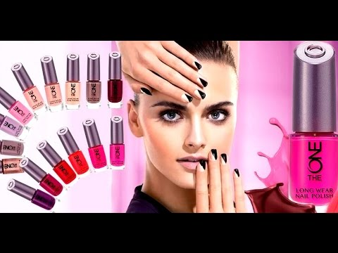 oriflame the one long wear nail polish review - YouTube