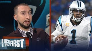 Nick Wright explains why Cam Newton's Week 5 performance was so impressive | FIRST THINGS FIRST