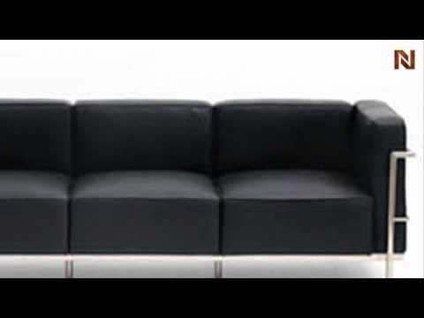 Nuevo Madrid lounge sofa black HGGA124