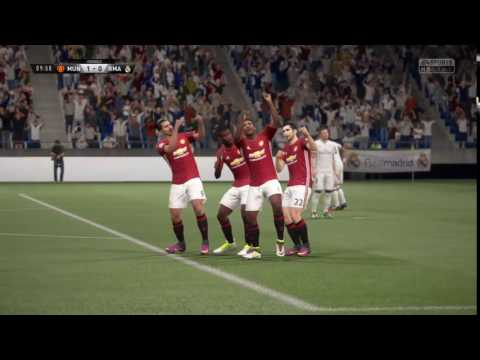 FIFA 17 Big Man Celebration