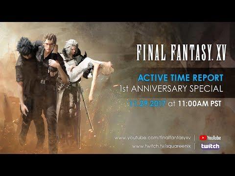 Final Fantasy XV ACTIVE TIME REPORT 1º Aniversario EN DIRECTO ESPAÑOL   Reacción/Reaction