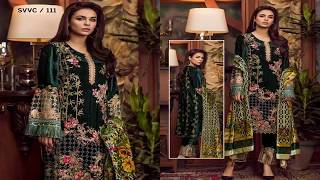 Shaista Velvet Embroidered Collection
