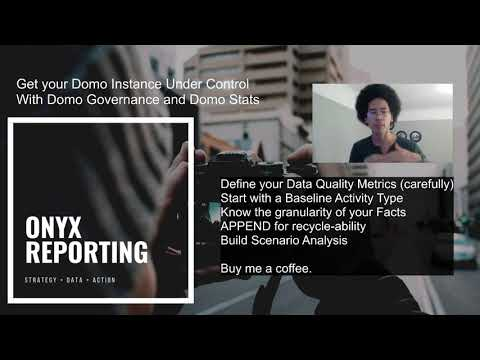 Measure the Usefulness of your Domo Datasets using Domo Governance and Stats // Magic 2.0 tutorial