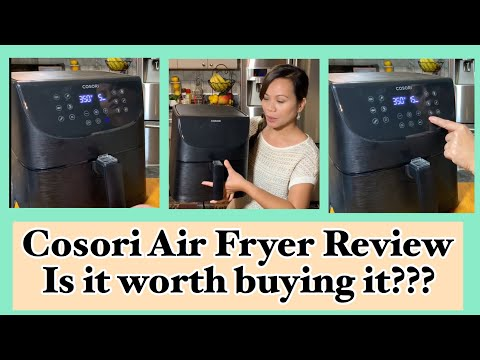 Cosori Air Fryer Review | Cooking and Cleaning Tips