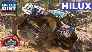 Toyota Hilux takes on the Comeup XWC - Winch Challenge - Extreme Winching