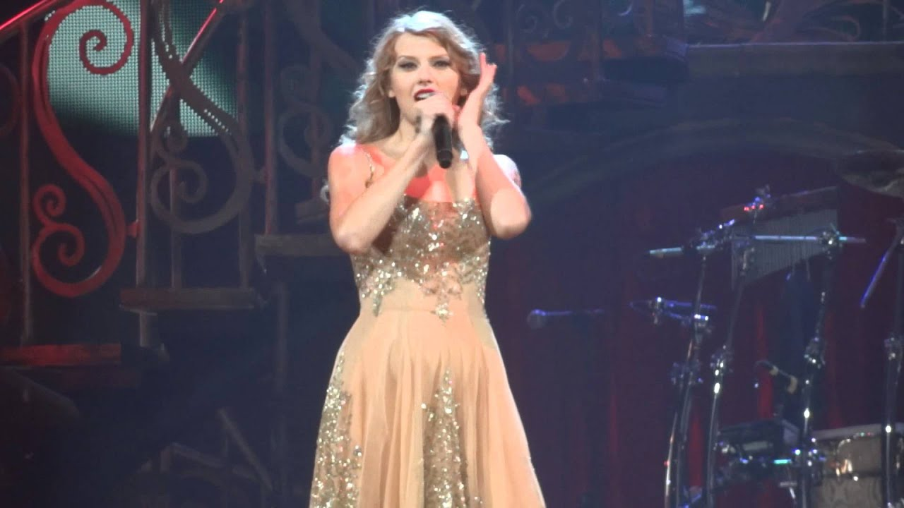 Taylor Swift - Enchanted Live HD - YouTube