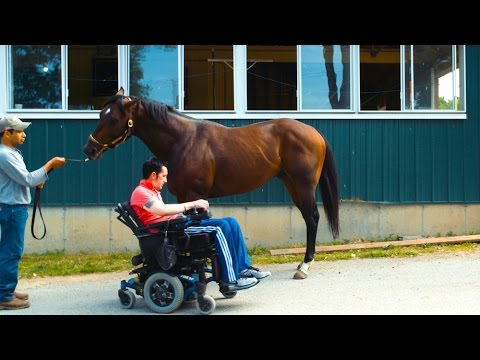 The Paralyzed Jockey Who's Still in the Race