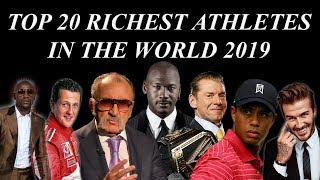 Top 20 Richest Athletes In The World | Highest Paid Athletes In The World of All Time