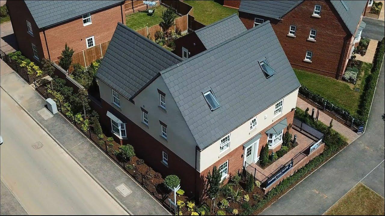 David Wilson Homes East Midlands The Moorecroft Youtube