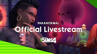 The Sims 4 Paranormal Livestream