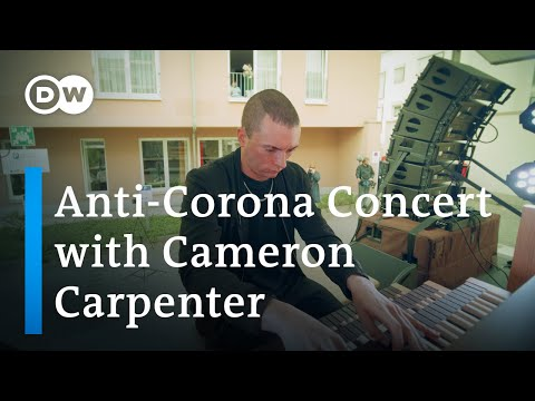 Organist Cameron Carpenter takes Bach on the road: Classical concert for corona lockdown