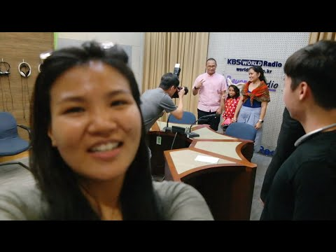 2016 Resolution: First Time - Interviewing Friends at KBS WORLD Radio, Seoul