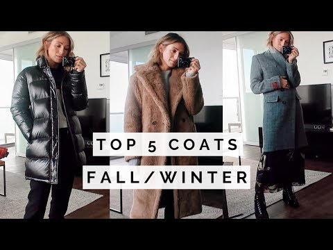 TOP 5 COATS + OUTFIT IDEAS | ARITZIA HAUL TRY ON