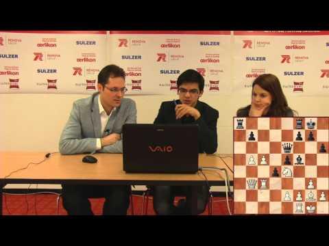 Press Conference Round 10: Giri Anish (NED) - Leko Peter (HUN)